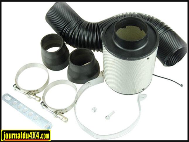 kit filtre à air +  boîte à air pour 4x4