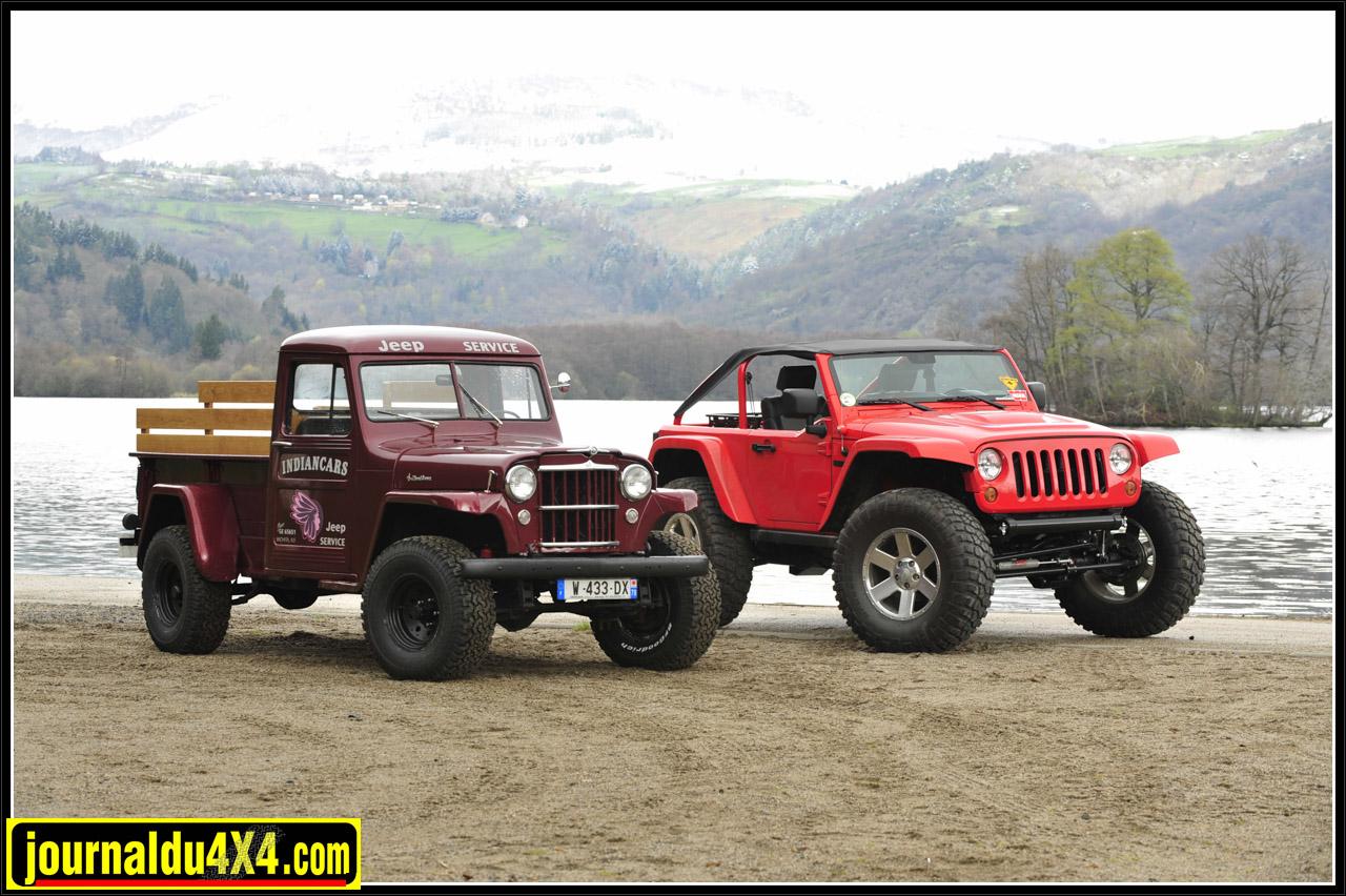 Jeep Truck, le Pick up originel. Les gènes de la légende subsistent encore aujourd'hui.