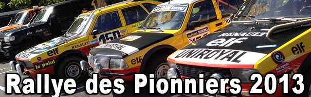 Rallye des Pionniers 2013