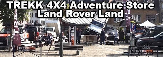 Land Rover Land : l'ovale vert fait salon en Belgique