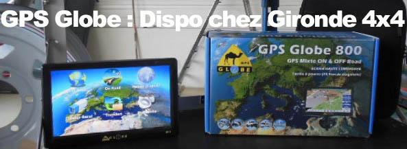 GPS Globe 4×4 chez Gironde 4×4
