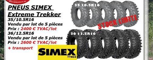 SIMEX EXTREME TREKKER