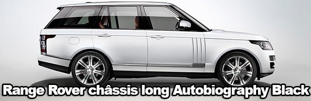 Range Rover  Long-Wheelbase  un Range châssis long, 20 ans que l'on attendait ça