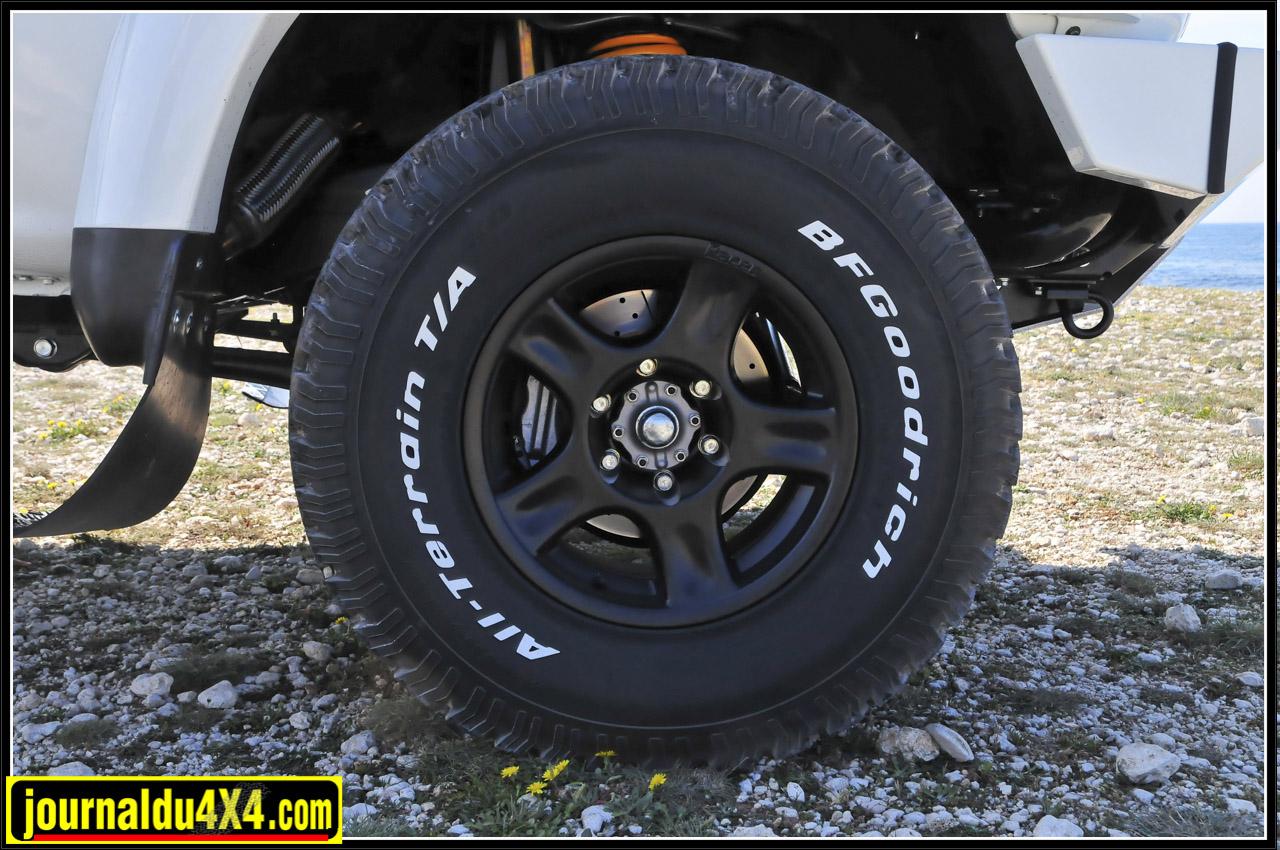Jantes racer, pneus BF 285/75R16
