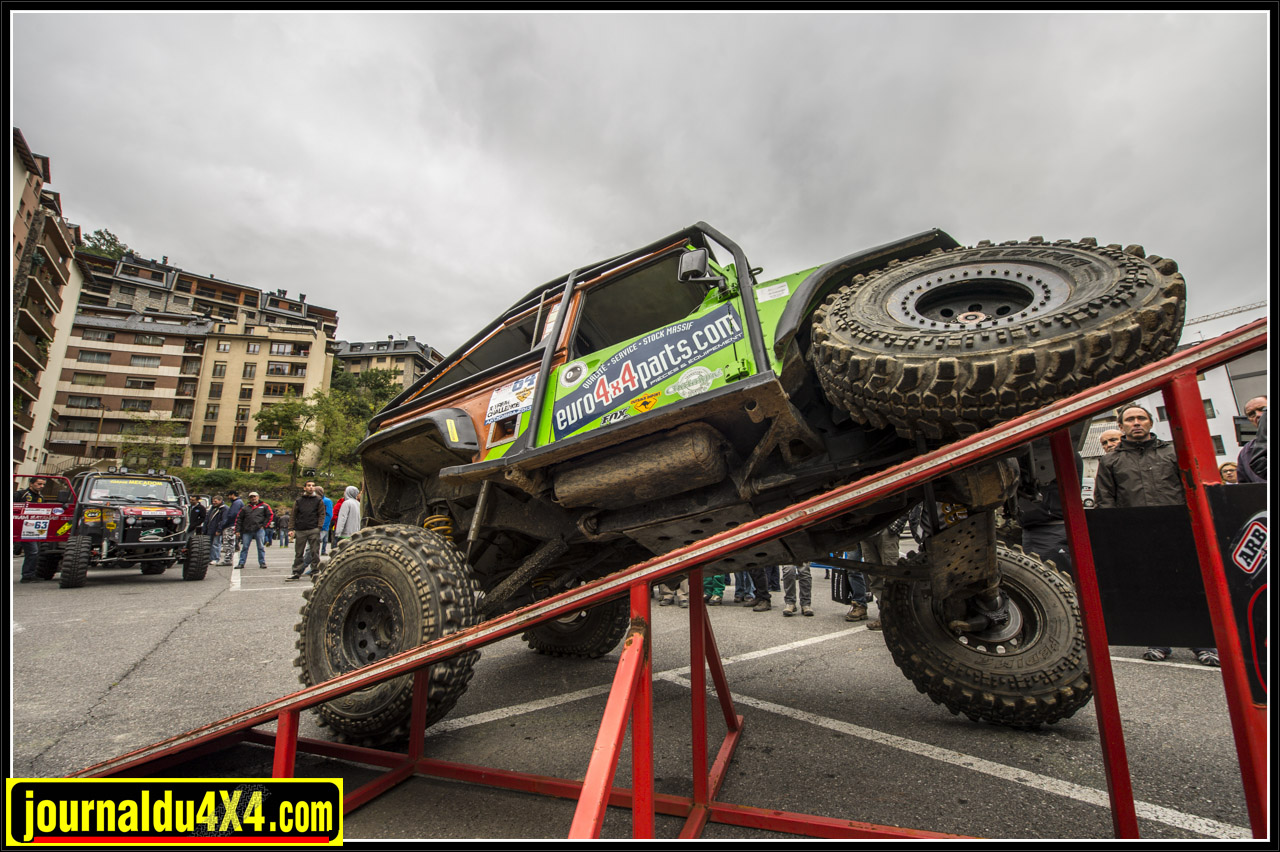 Team Land 100 Xtreme Christian Chataigné Rudy Chataigné FR Preparat Land Rover Defender 90
