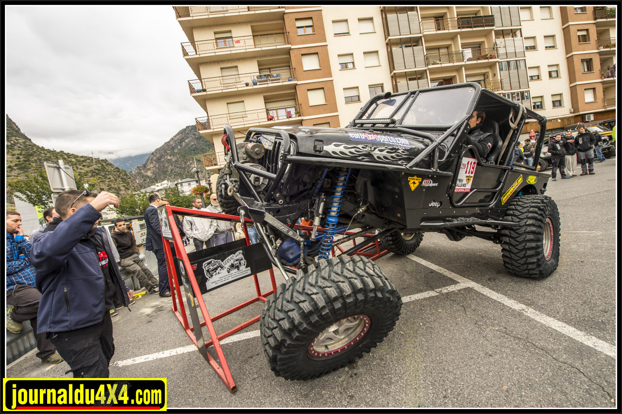 A Fondo 4x4 Jacobo Tirado Antonio Bauzan ESP Proto Jeep Wrangler Rubicon
