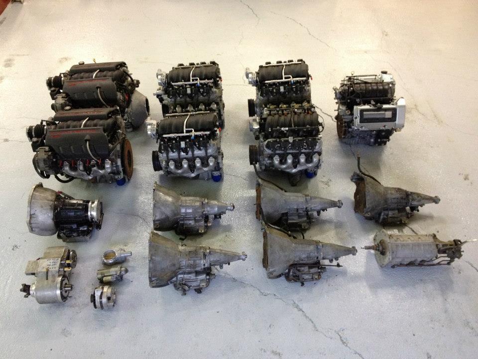 moteurs neufs et d'occasion V8 et V6