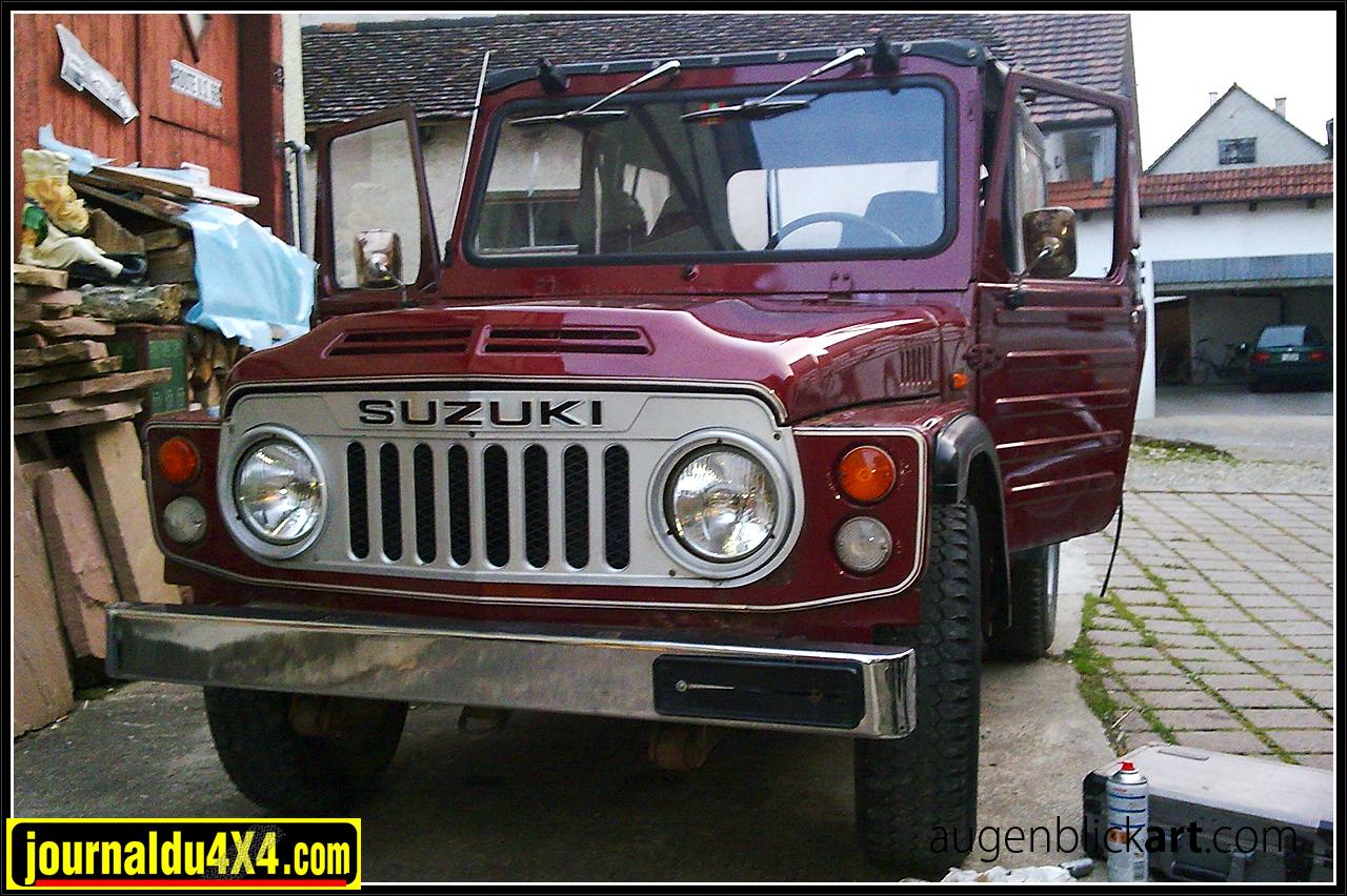 Voici le Suzuki LJ 80 avant sa restauration