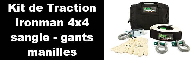 Kit de Traction Ironman 4×4