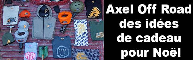 Axel Off Road :  des idées de cadeaux pour Noël