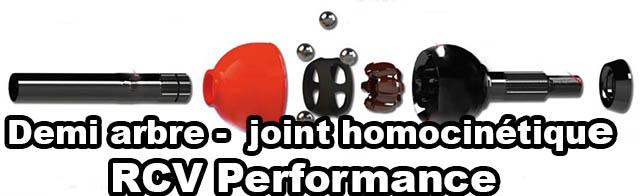Demi arbre joint homocinétique RCV Performance  chez 4krawl