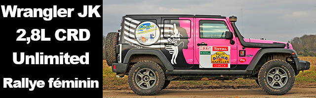 "Wrangler JK 2,8L CRD Unlimited "" Rallye féminin"""