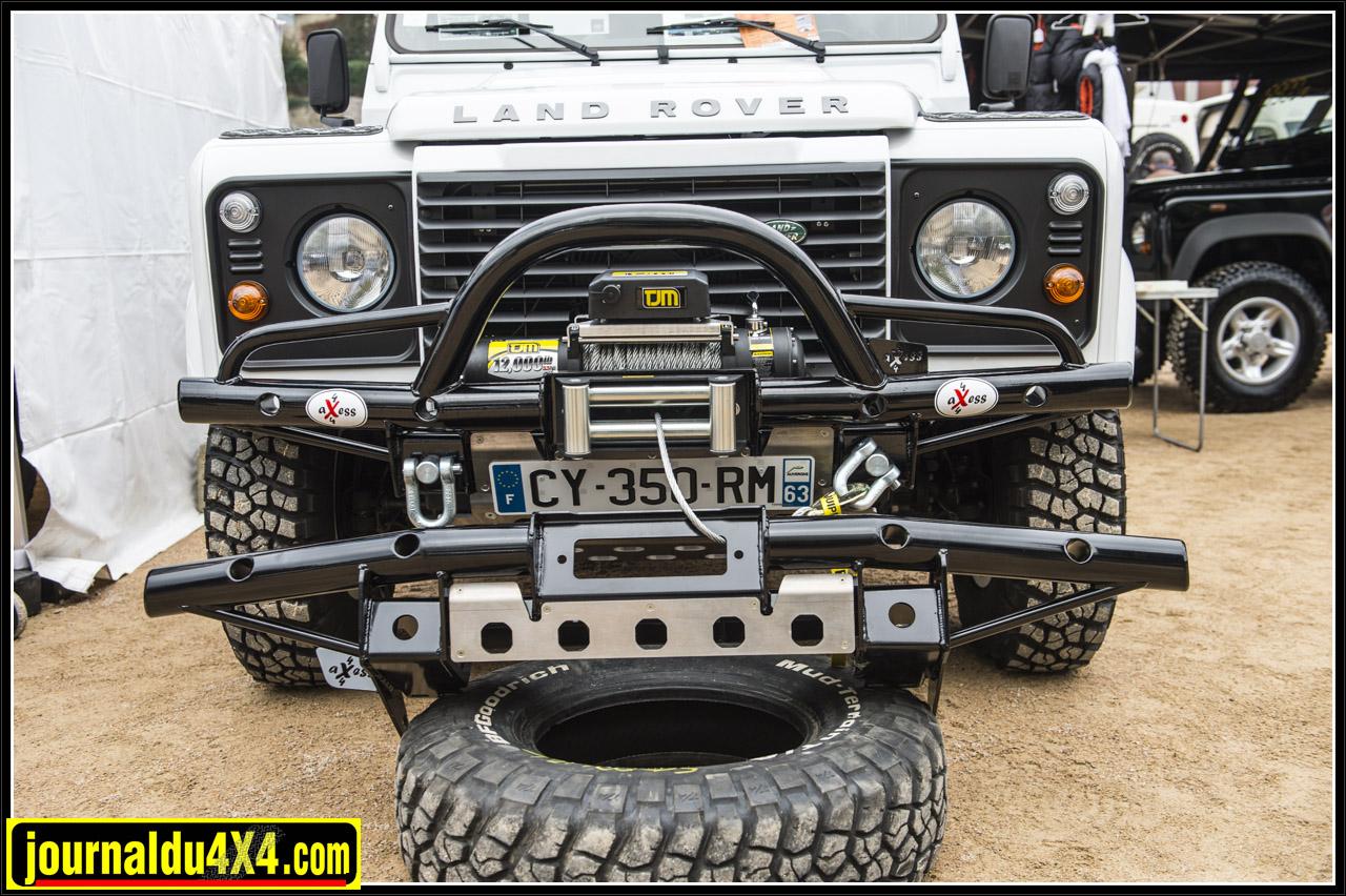 Pare Choc Axess 4x4 disponible chez Land Rover Clermont