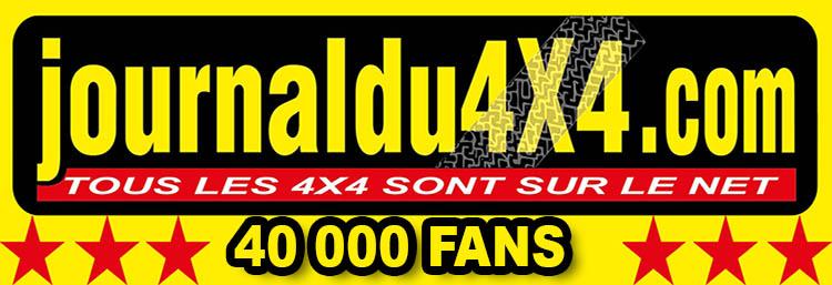 40 000 Fans sur Facebook pour le journaldu4x4.com