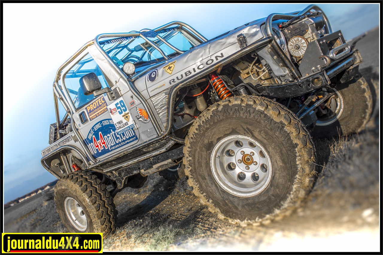 Jeep TJ Wrangler Rubicon 4.0L AMC 190 ch / 319 N/m