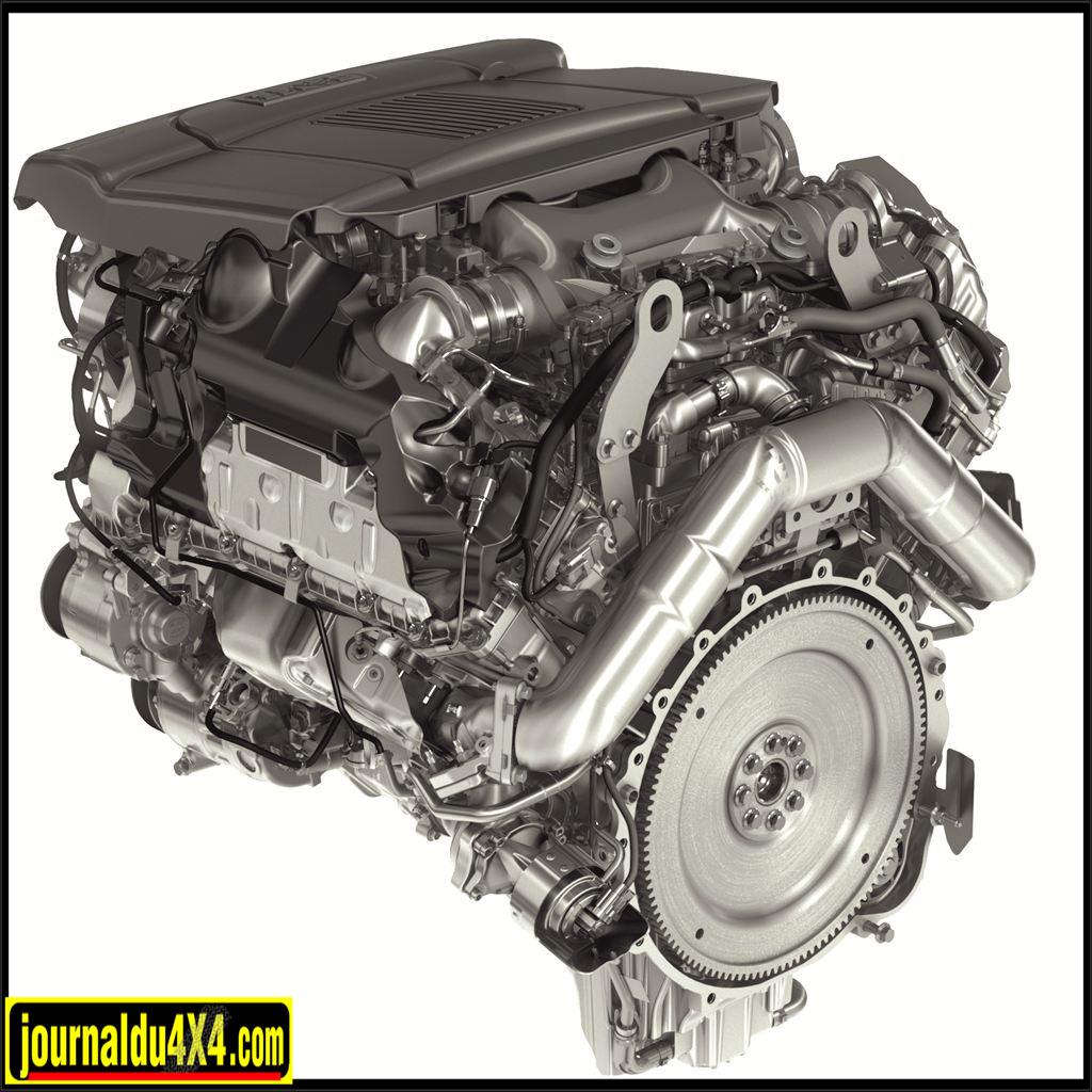 moteur SDV8 Range Rover Sport