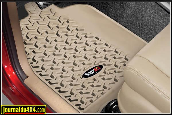 tapis de sol jeep wrangler avant 2 4 portes. Black Bedroom Furniture Sets. Home Design Ideas