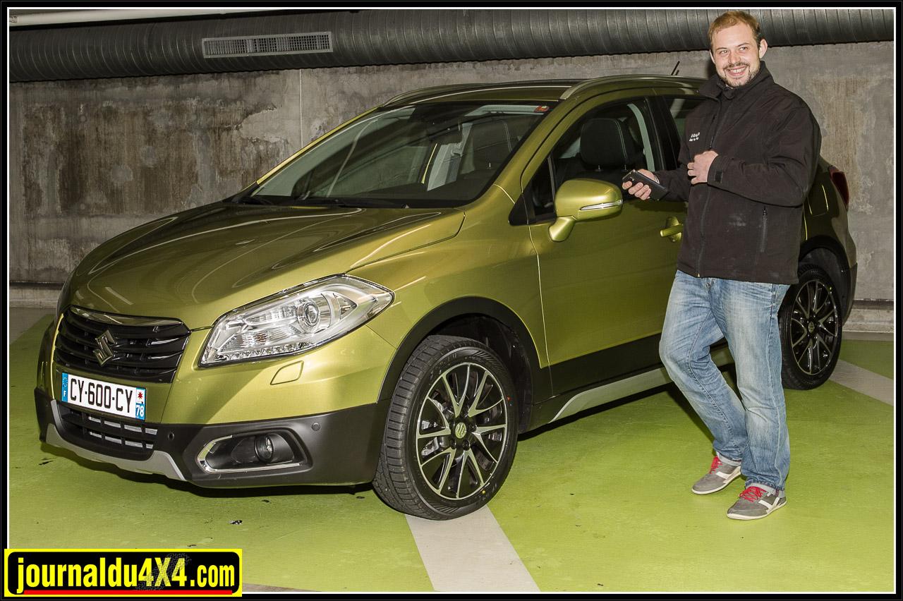 Nelson découvre le nouveau SX4 S Cross