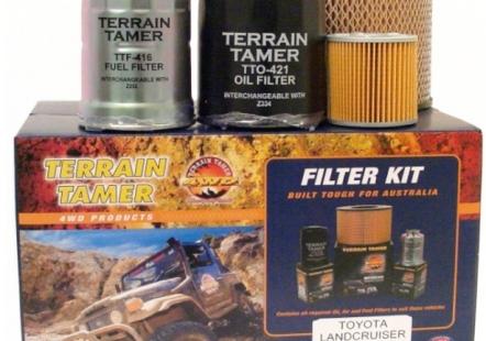 filtres à air 4x4, huile et carburan