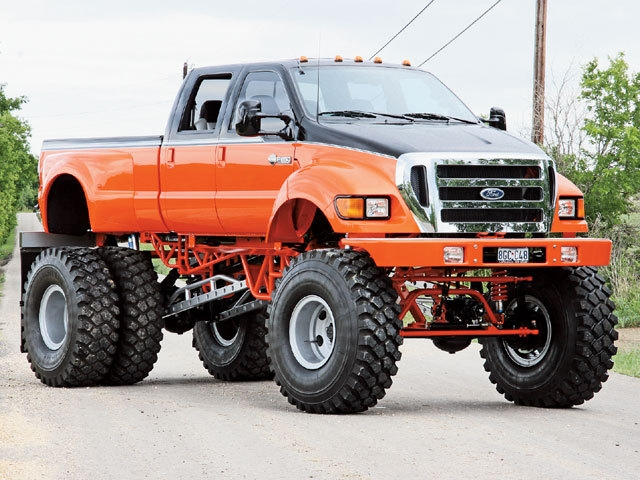 ford f650 roues jumelées ...