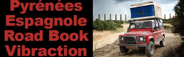 Espagne en 4×4 Road Book Vibraction