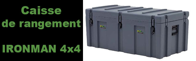 Caisse de rangement IRONMAN 4×4