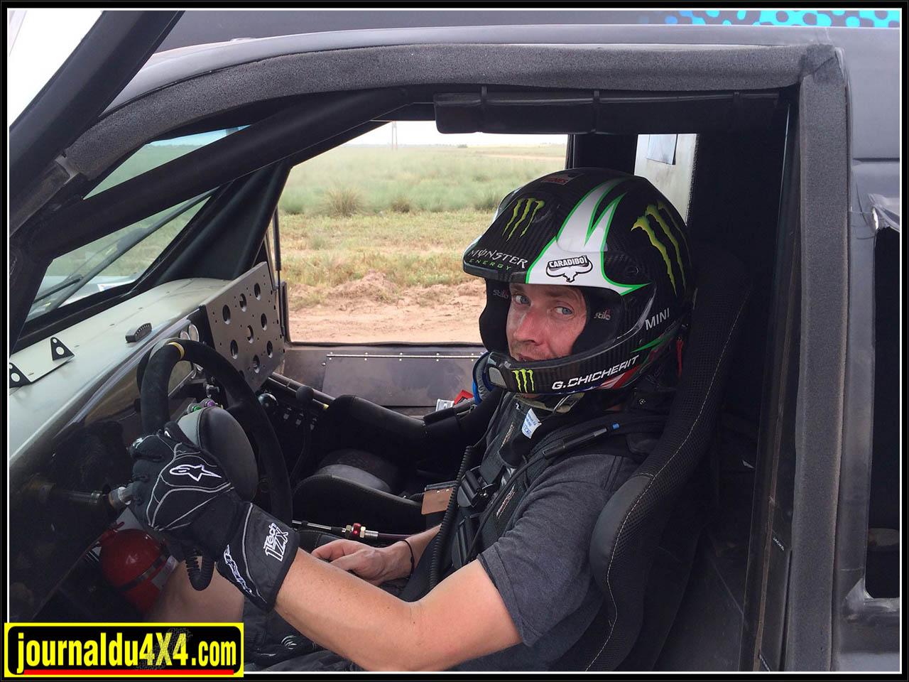 dakar 2014 Guerlain Chicherit (Dakar #320) sera au volant d'un VX 101