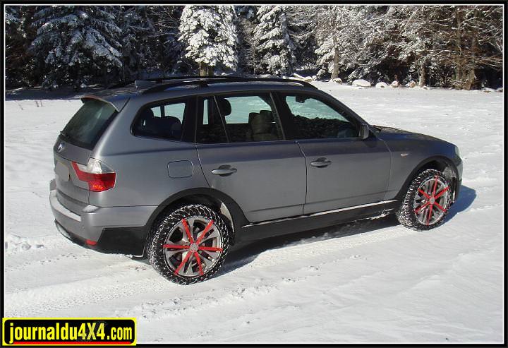 chaîne neige easy grip sur SUV