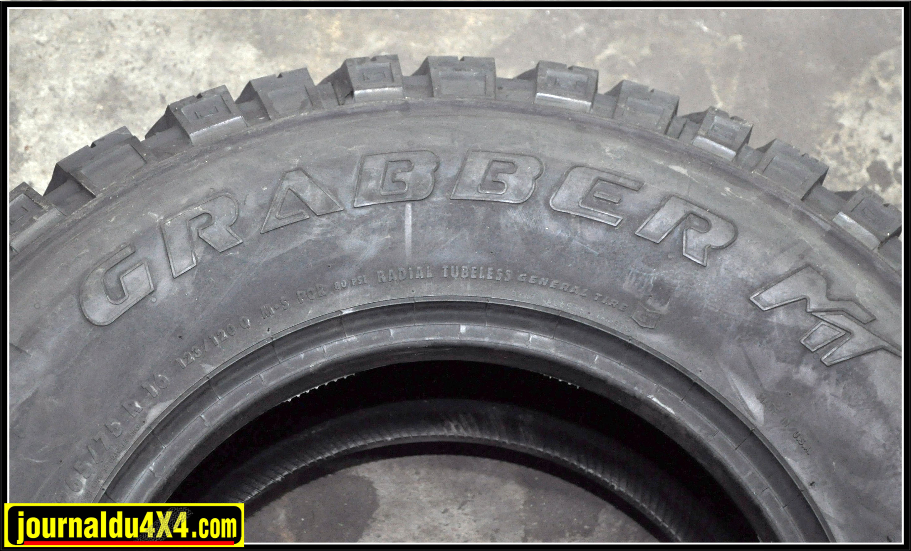essai pneu 4x4 grabber mt 265/75R16