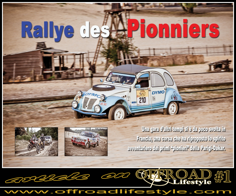 OFFROAD Lifestyle rallye des pionniers