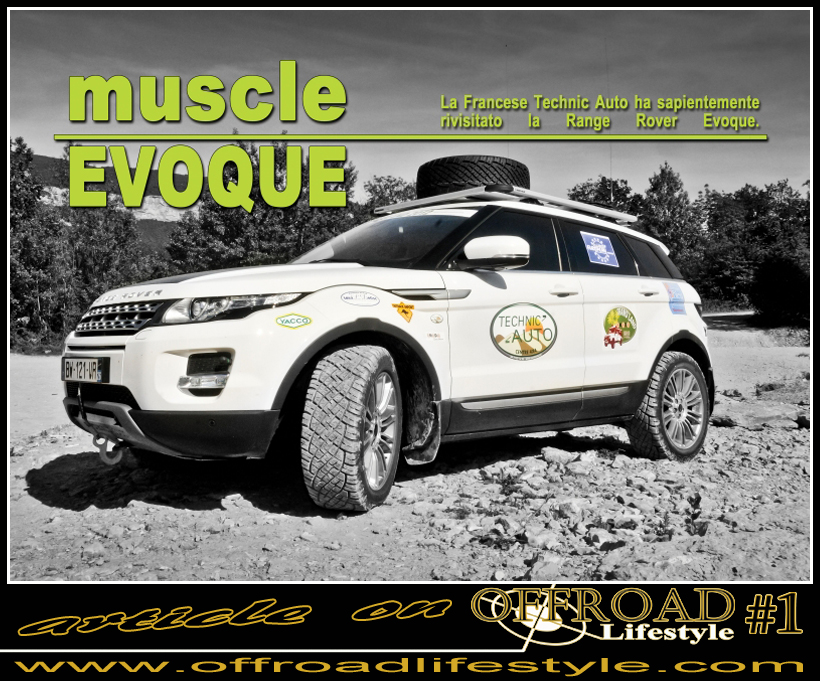 OFFROAD Lifestyle Land Rover Evoque