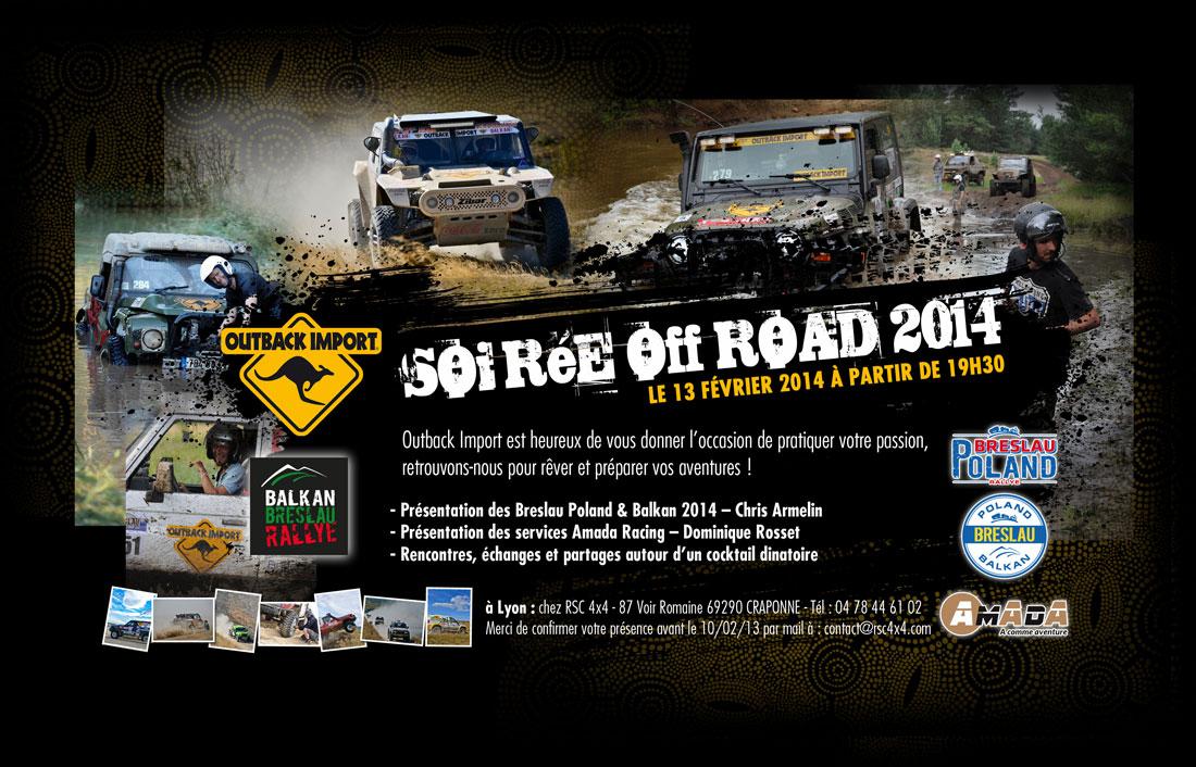 RSC 4×4 SOIREE BRESLAU off road Jeudi 13 février 2014