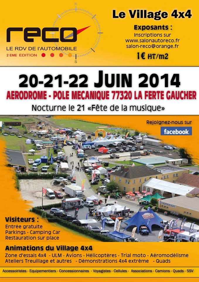 Salon RECO 20-21-22 Juin 2014