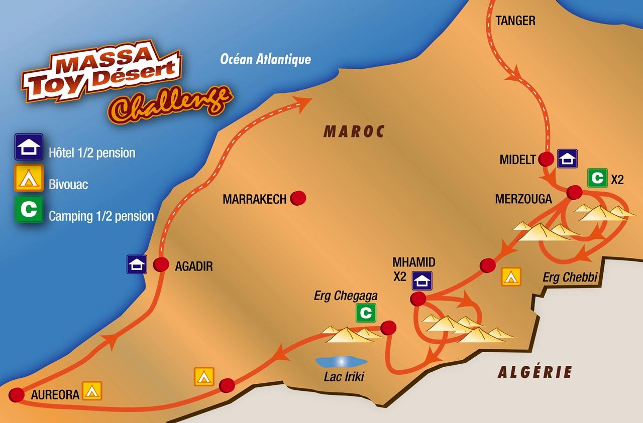 MASSA Toy. Désert Challenge Maroc 12 au 27 avril 2014