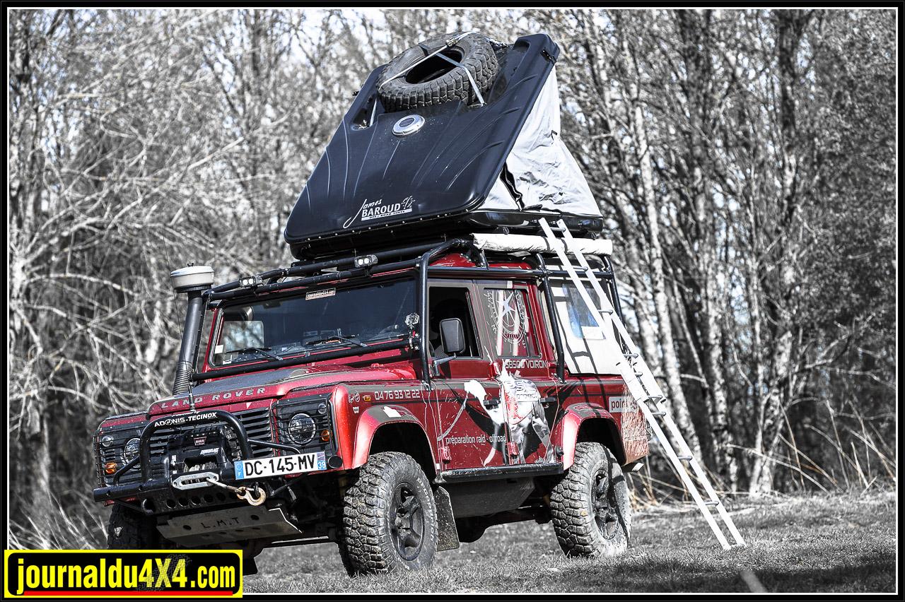 la tente de toit James Baroud Discovery Extrême