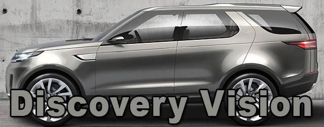 Discovery Vision : le nouveau concept Land Rover