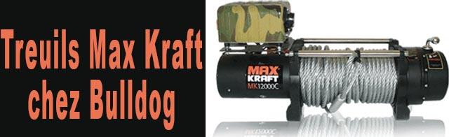 Treuils Max Kraft chez Bulldog