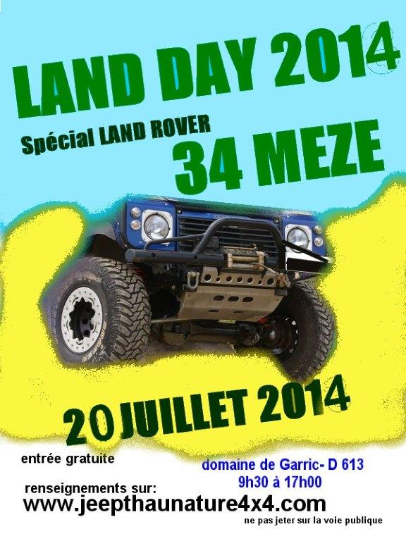 LAND ROVER DAY le 20 juillet 2014