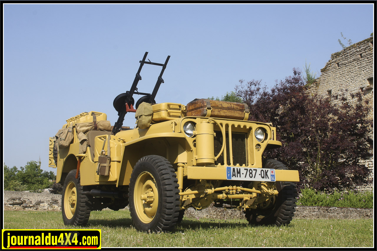 Jeep Willys SAS 1942