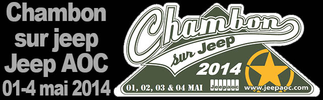 Chambon sur Jeep 2014
