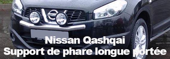 Nissan Qashqai Support De Phare Longue Portée Magazine X SUV - Longue portée 4x4