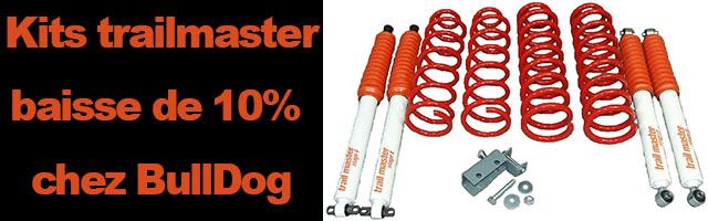trailmaster : baisse de 10% chez BullDog