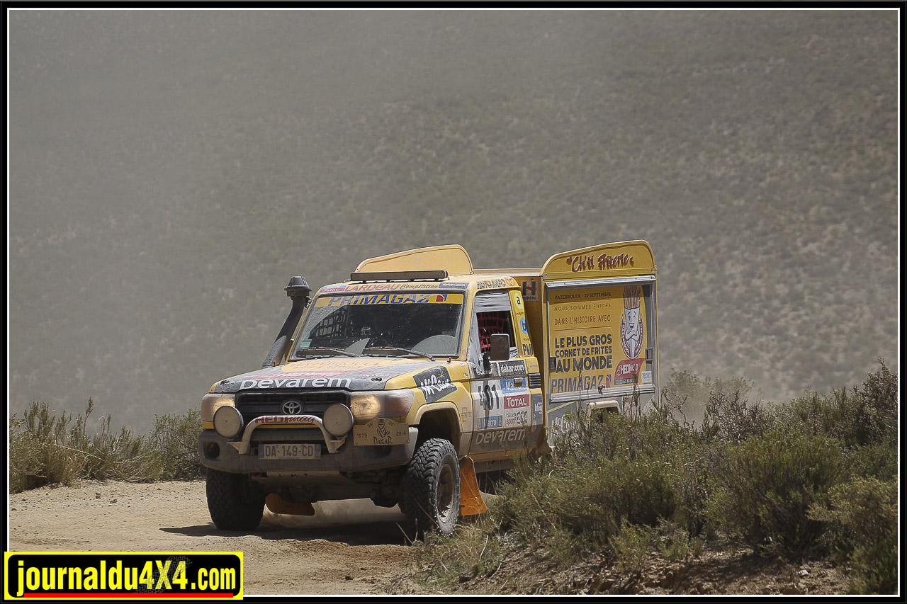 Ch'ti Friterie et Dakar 2014