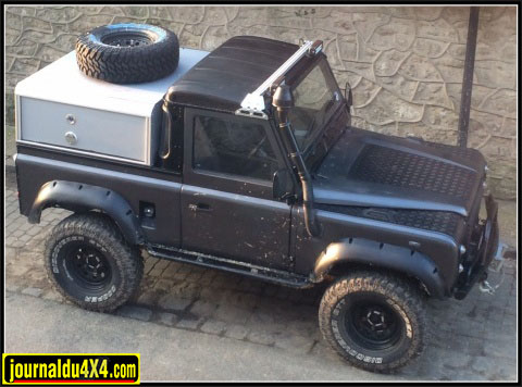 Hardtop pour pick up Defender