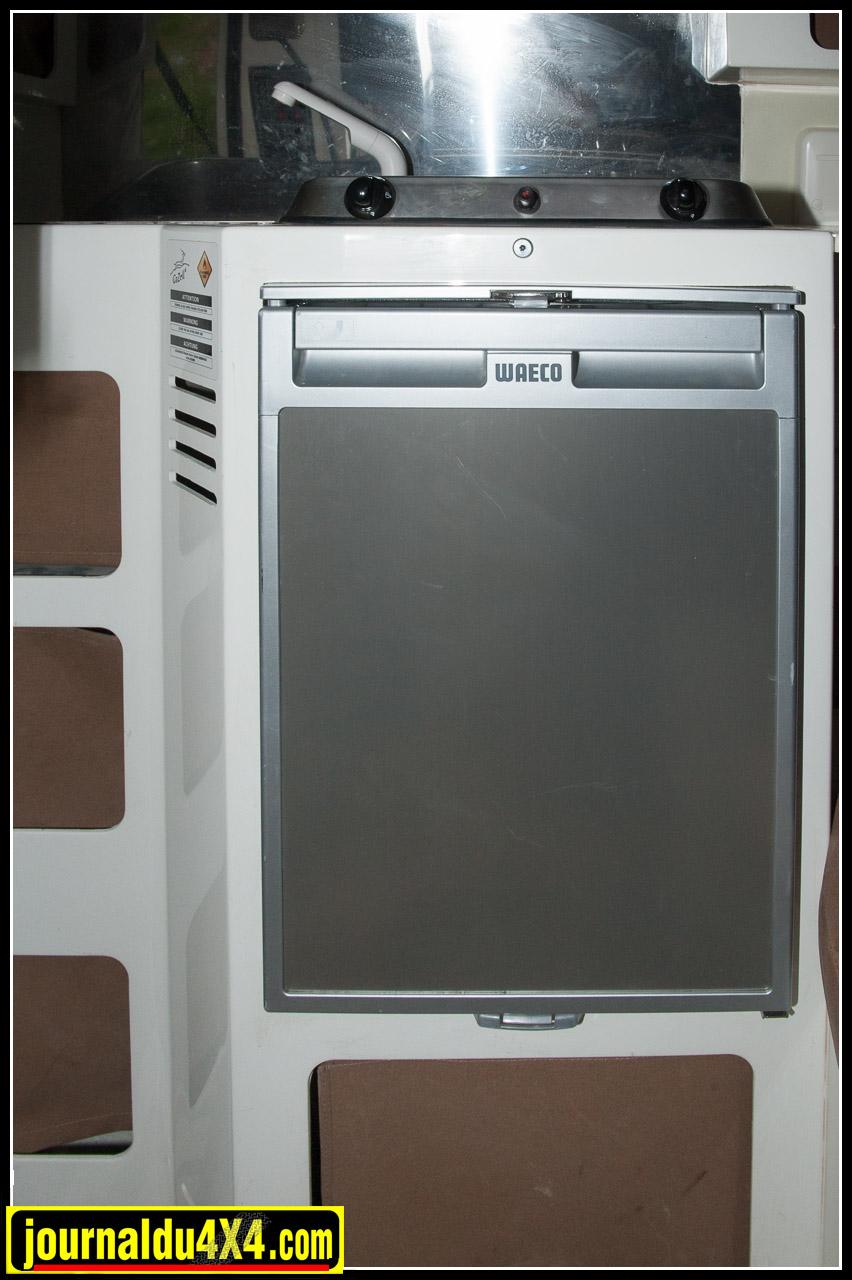 Réfrigérateur Waeco avec bac à glaçons!