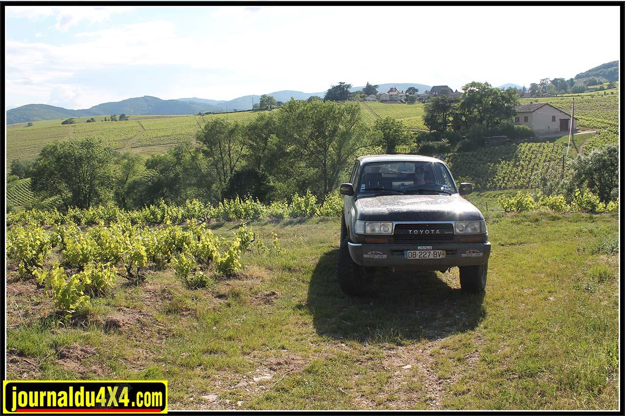 Des vignes de Gaillac aux vignes du Beaujolais pour l'équipage n° 10
