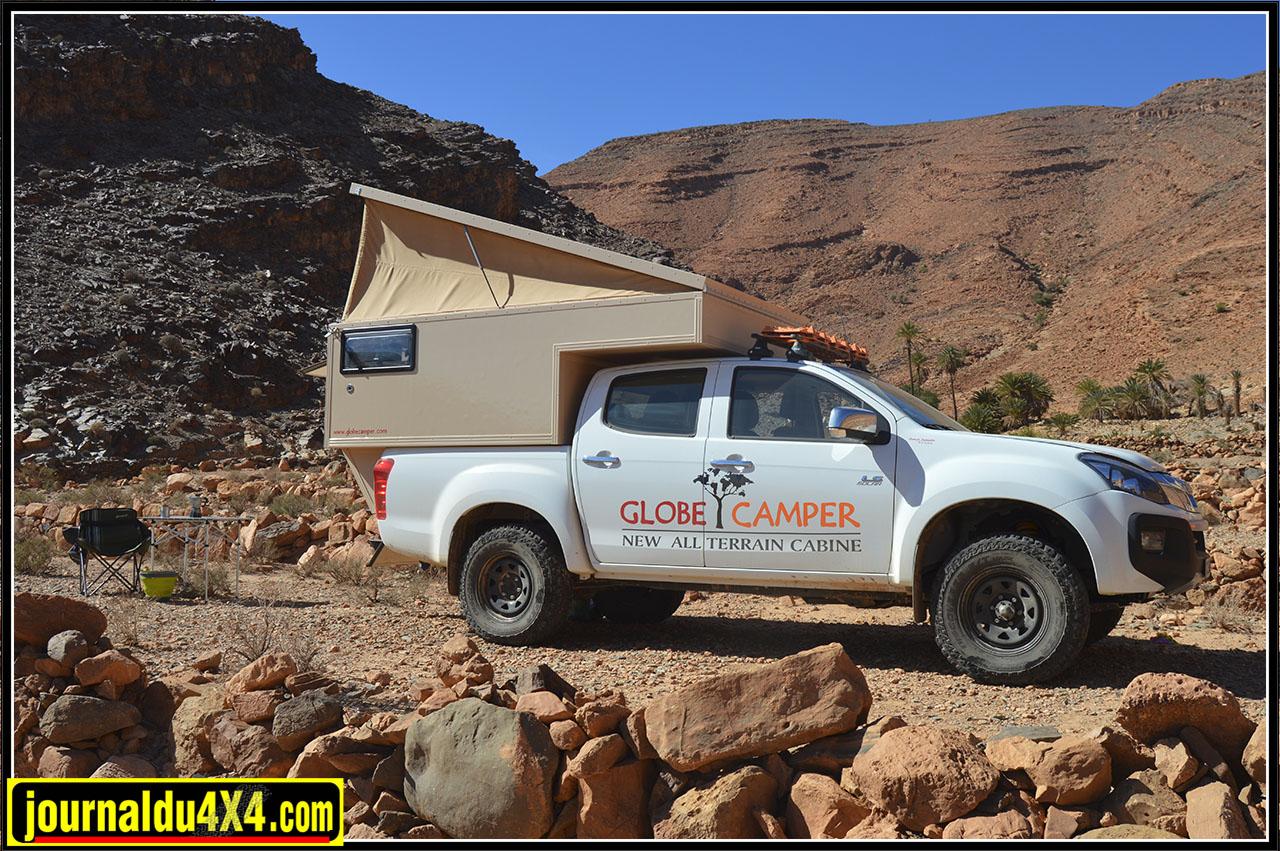 ALL TERRAIN Cabine Globe Camper