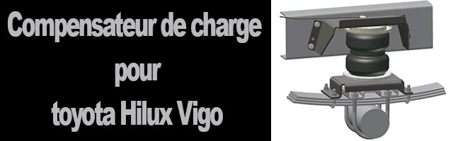 Compensateur de charge toyota Hilux Vigo