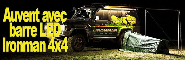 Auvent 4×4 à LED Ironman 4×4