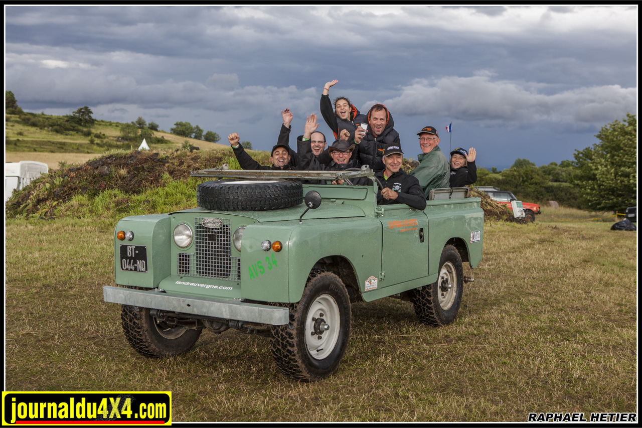 Land Rover rend heureux, la preuve...